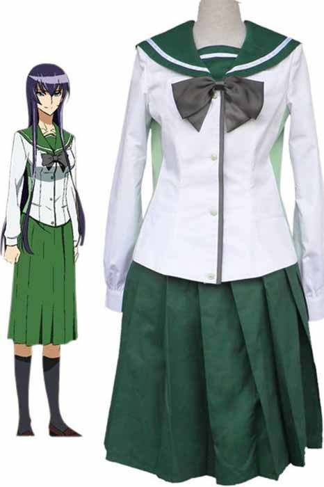 anime Costumes|High School of The Dead|Maschio|Female